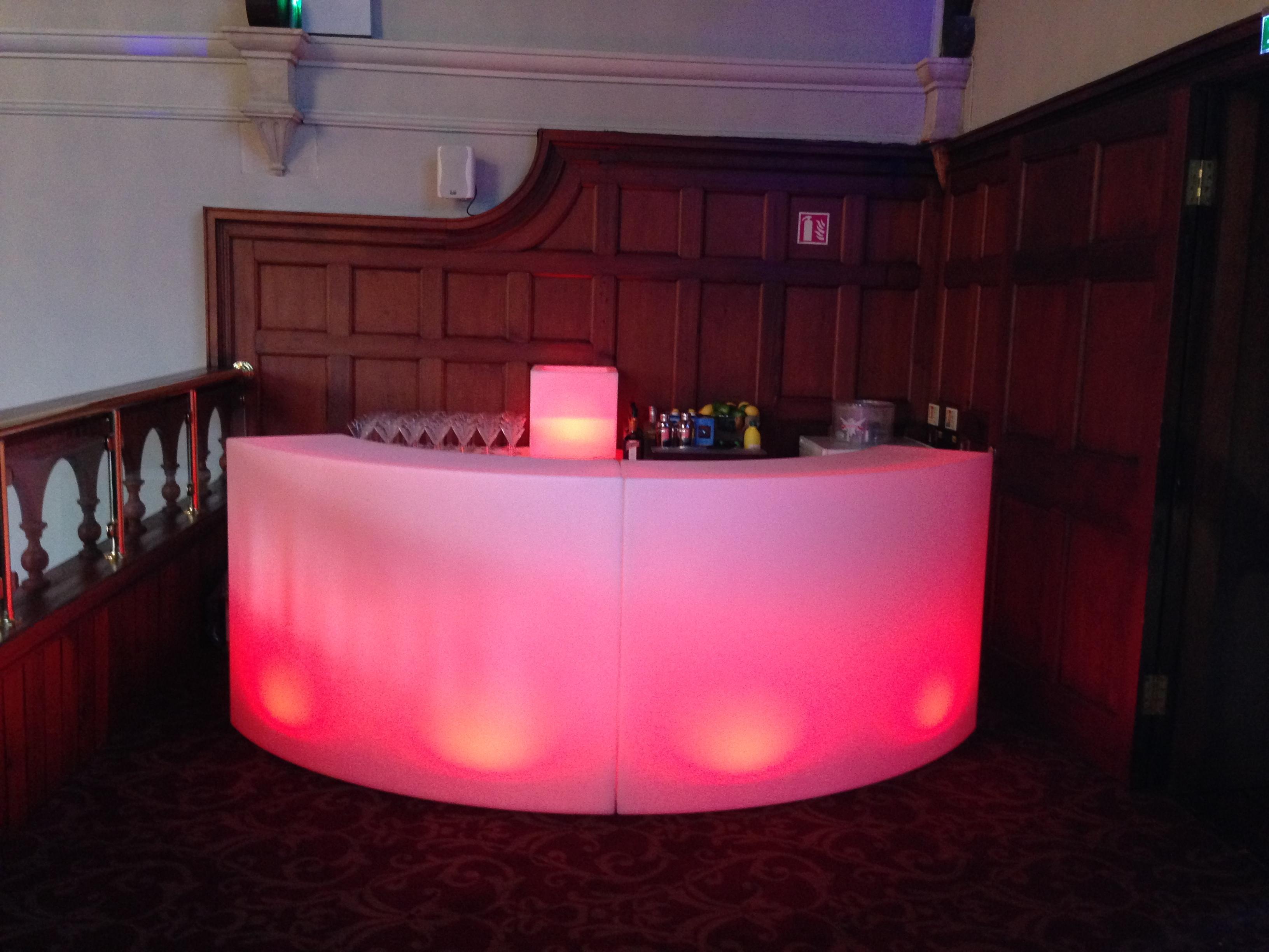 Led Bar Cocktail Event Bars Ltd