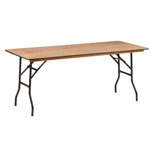 Trestle table 6 ft €8.00