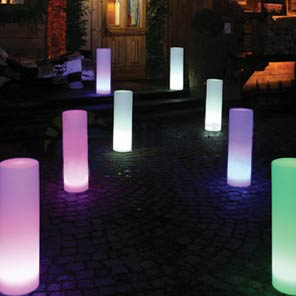 LED Cylinder€15.00 lighting hire ireland