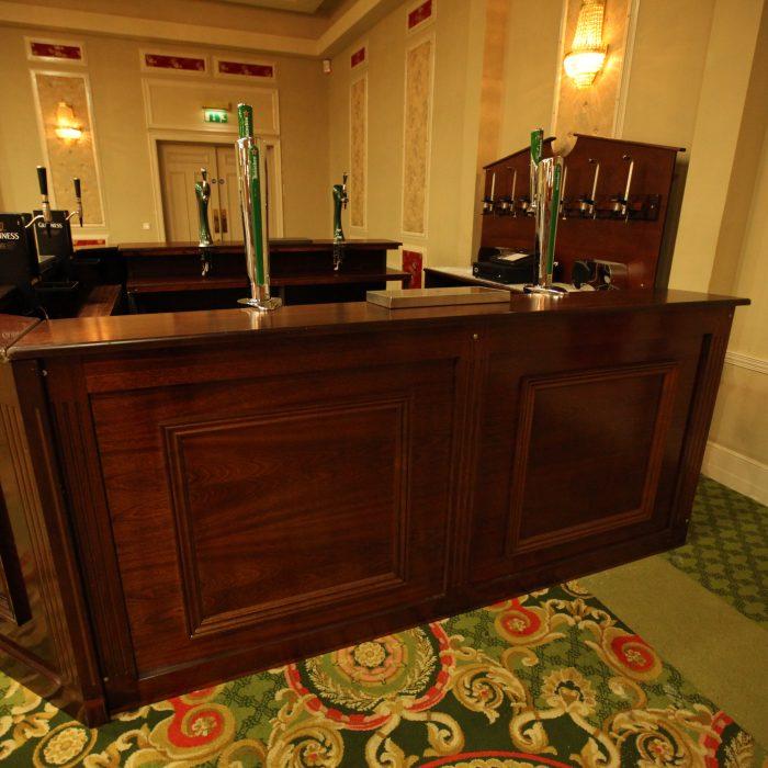 """Banquet Bar 24ft """"U"""" shape"""