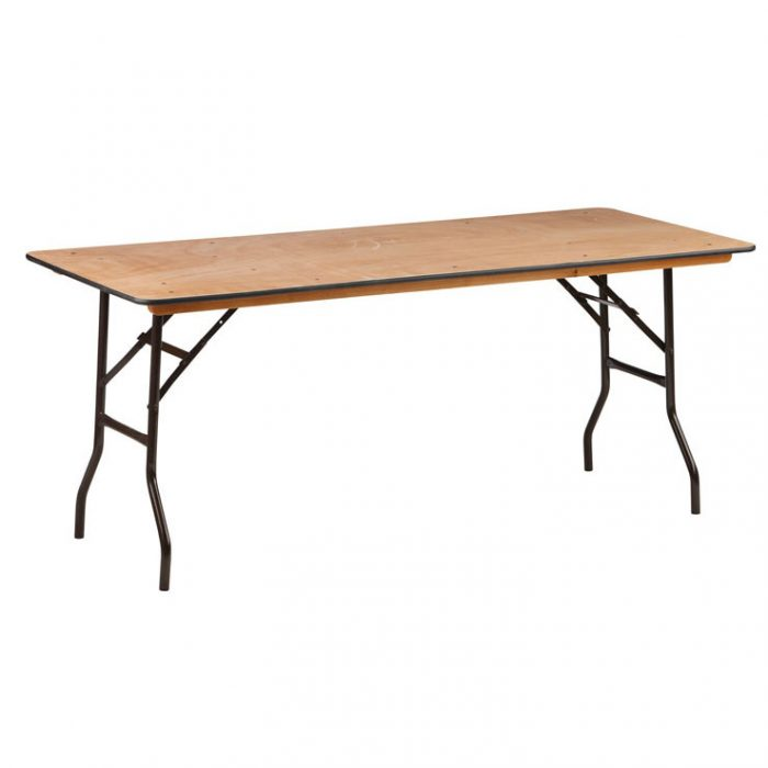 Trestle table 6 ft €8.00