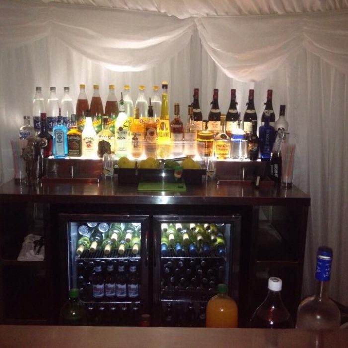 Steelite back bar€250.00
