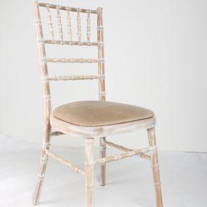 Chiavari Chair - Lime Wash