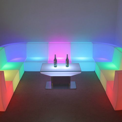 LED Seat-Corner Couch€45.00