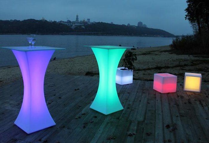 LED Table-Tall Boy€45.00