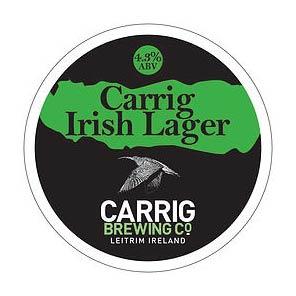 Carrig Lager 4.3% 30ltr€185.00